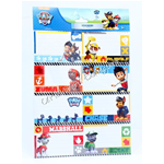 Name Stickers Paw Patrol