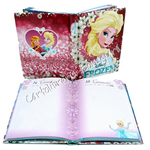 Diario Standard 10M Elsa Love Glows Frozen by Seven