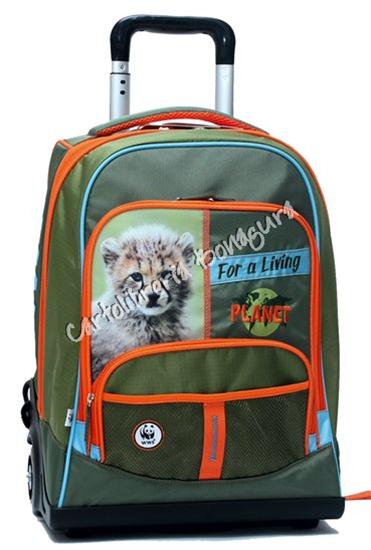 data di rilascio: 3a594 8c774 Zaino Organizzato Trolley Premium Boy WWF