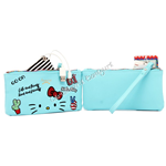 Pochette Power New C/Finestra Touch Azzurro Hello Kitty