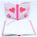 Diario Pocket 12M Pois Flowers & Dots Camomilla