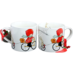 Tazza Maxi Cycling Poppi Loves Santoro